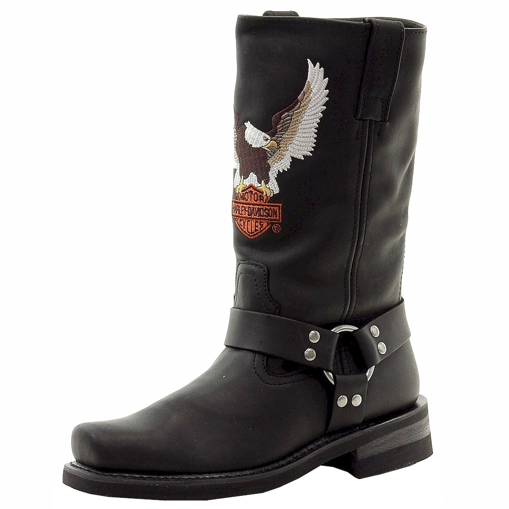 harley davidson s darren leather motorcycle boots