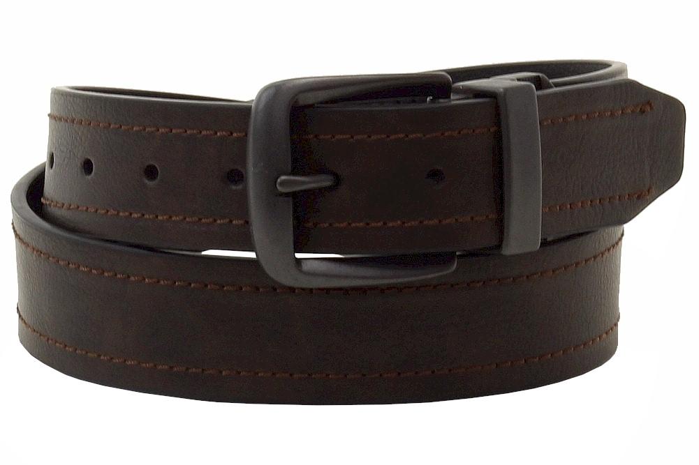 dickies s brown black reversible belt