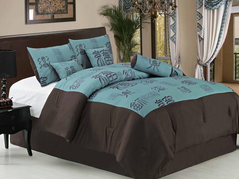Asian bed comforter set