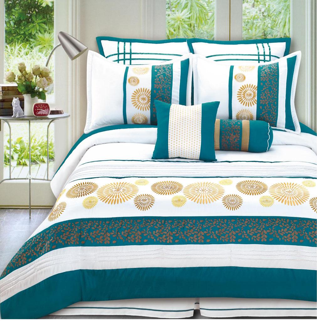 24 pc comforter set