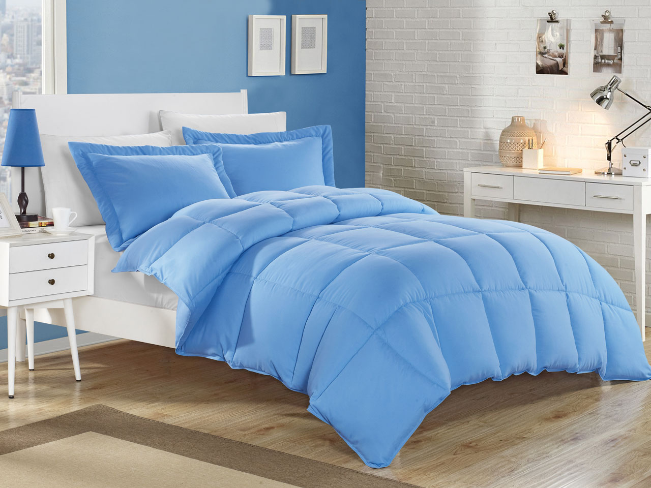 kinglinen down alternative comforter set ebay