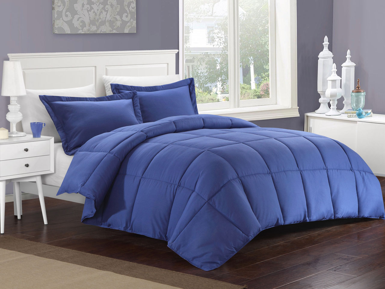 kinglinen down alternative comforter set ebay