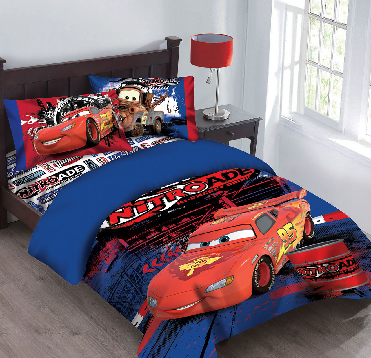 Disney Disney Cars Nitroade Twin Bedding Comforter Set