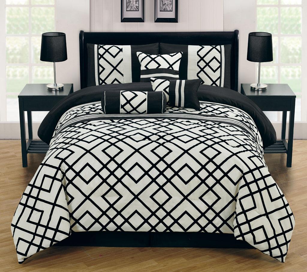 black ivory bedding sets