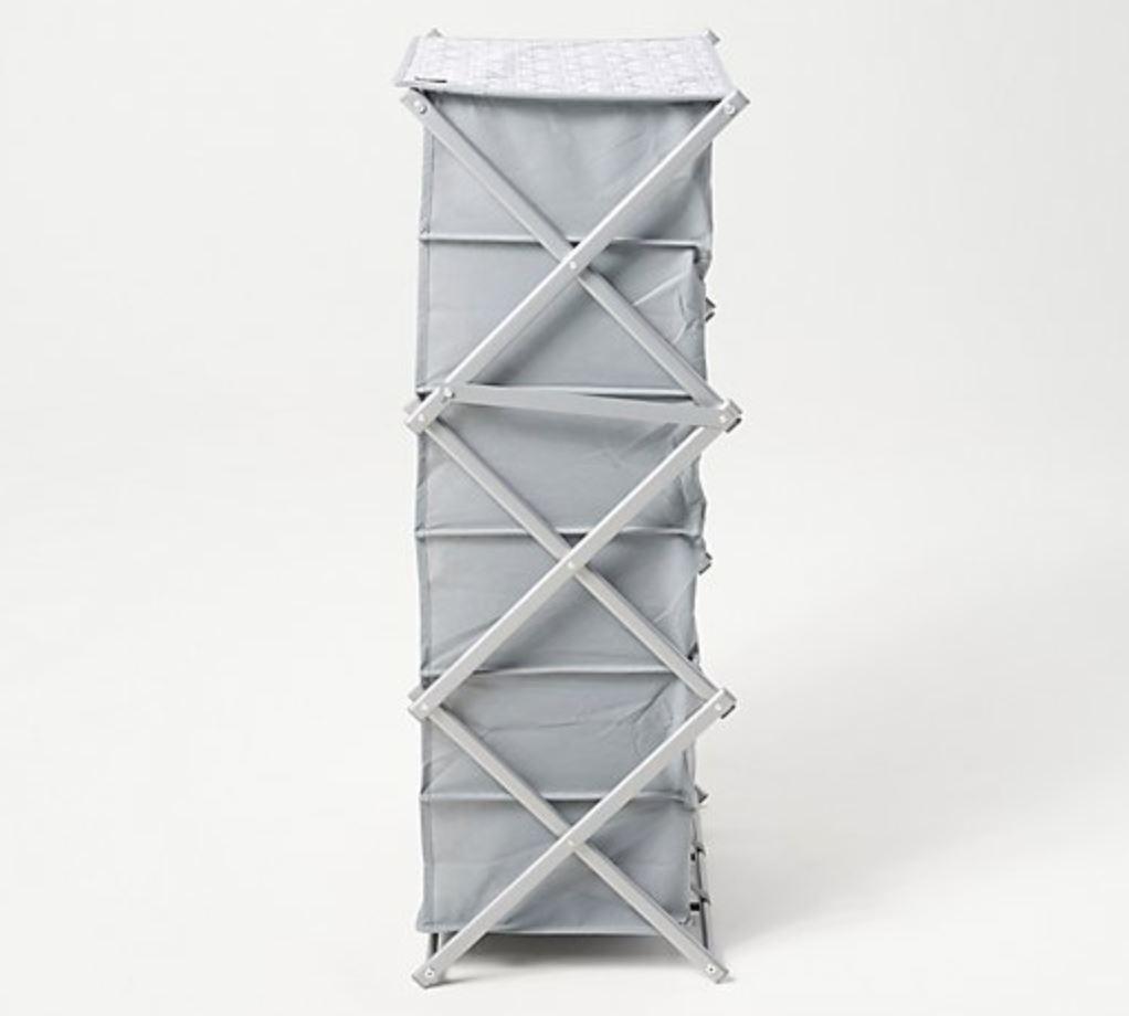 ClutterFree 18-Box Shoe Rack Foldable