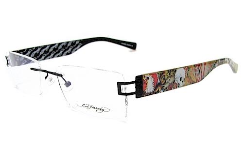 Ed Hardy Lites Eyeglasses Frames : Ed Hardy Lites EHL811 Eyeglasses EHL 811 Black Frame eBay