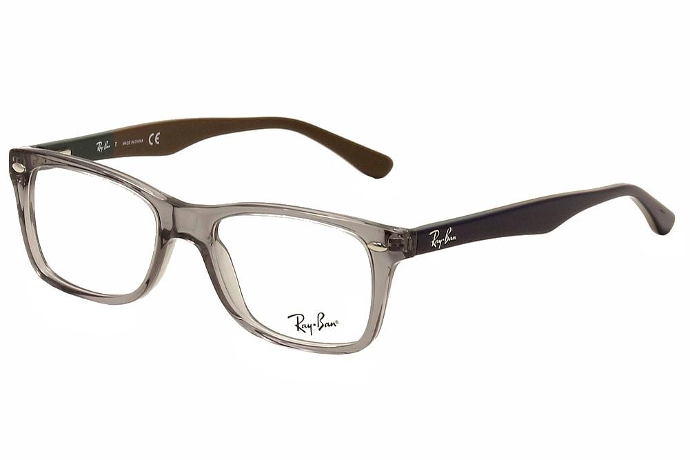 ray ban eyeglasses rb5228 rb 5228 5546 grey blue brown. Black Bedroom Furniture Sets. Home Design Ideas