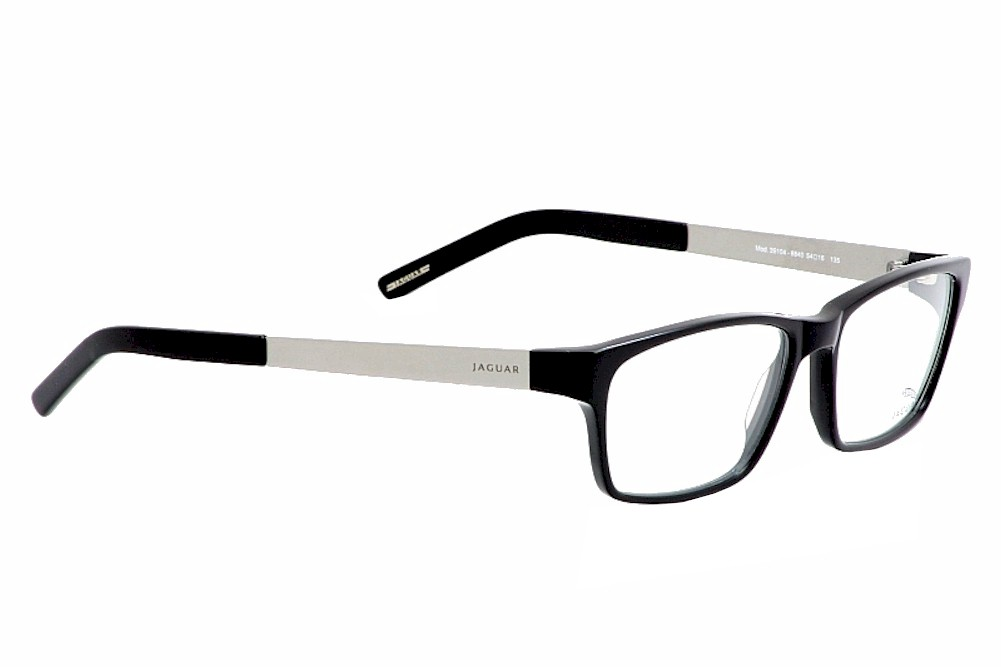 Jaguar Glasses Frame : Jaguar Eyeglasses 39104 Black Optical Frame eBay