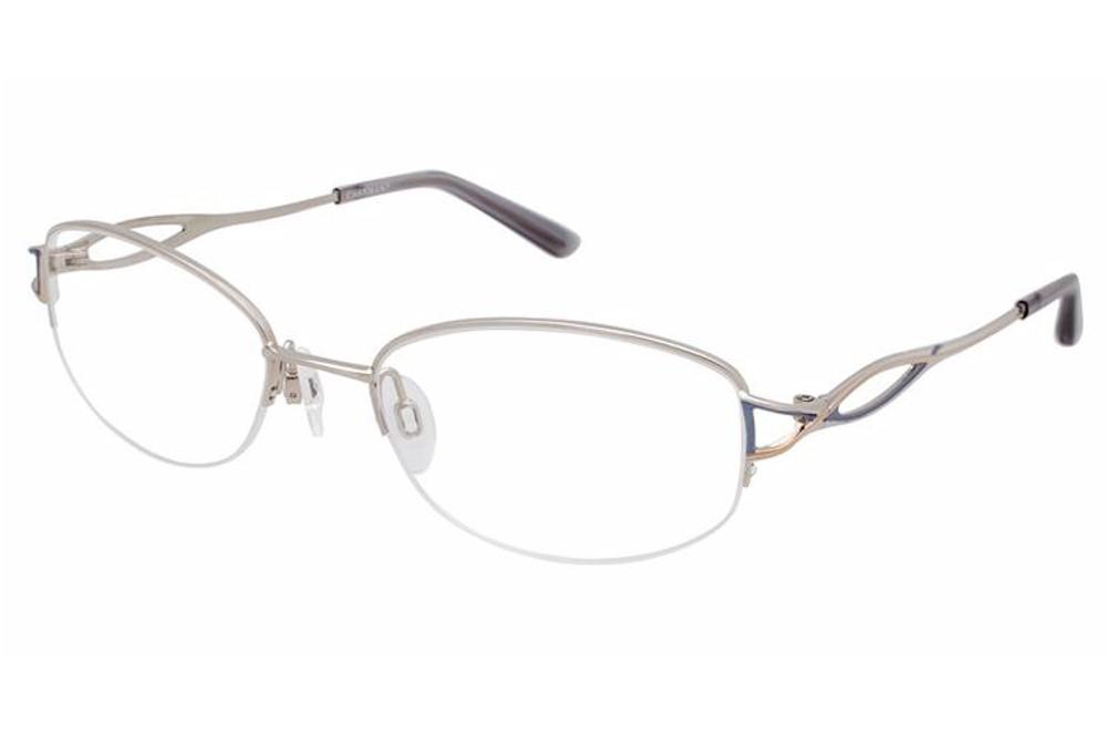 Titanium Half Rim Eyeglass Frames : Charmant Womens Eyeglasses TI12073 TI/12073 Titanium Half ...