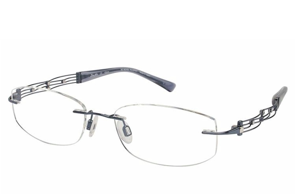 Line Art Rimless Eyeglasses : Charmant line art eyeglasses xl titanium