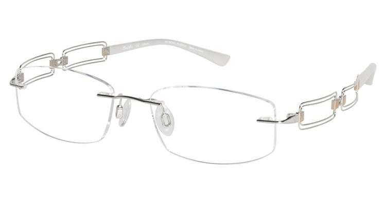 Line Art By Charmant : Charmant line art eyeglasses xl white gold