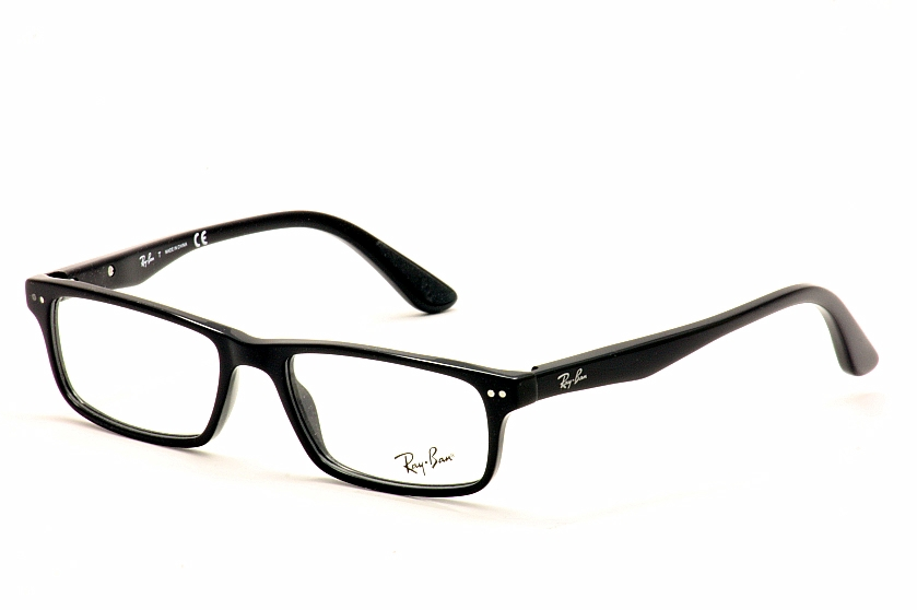 Ray-Ban Eyeglasses 5277 2000 Black RayBan Rectangle ...