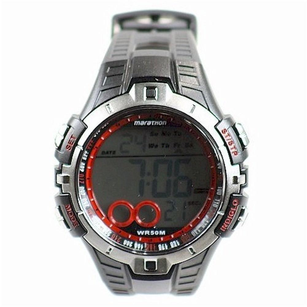 timex s t5k4239j marathon black digital sport ebay