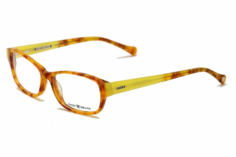 Glasses Frames For Blondes : Lucky Brand Womens Eyeglasses Porter Full Rim Optical ...