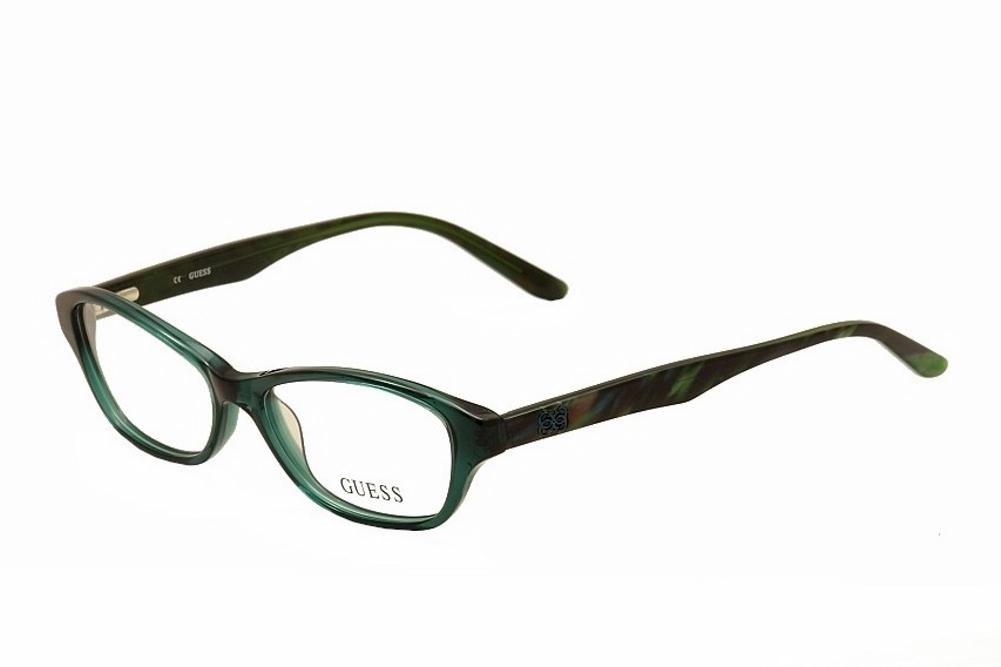 Guess Ladies Eyeglass Frames : Guess Womens Eyeglasses GU2417 GU/2417 BRN Brown Full Rim ...