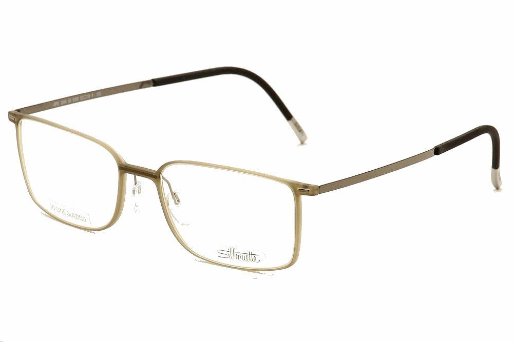 Eyeglass Frame Silhouette : Silhouette Eyeglasses Urban Lite 2884 6060 Taupe Full RIM ...