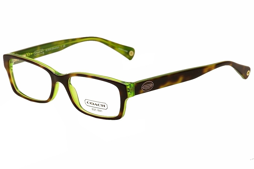 Coach Eyeglasses Brooklyn HC6040 HC/6040 5117 Tortoise ...