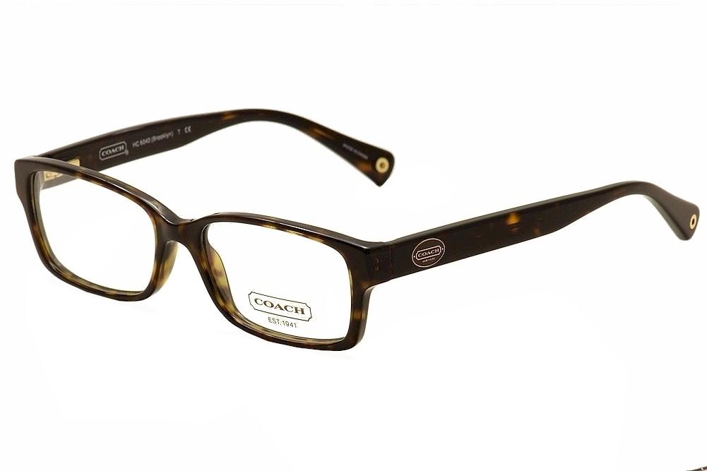 Coach Eyeglass Frames Brooklyn : Coach Eyeglasses Brooklyn HC6040 HC/6040 5001 Dark ...