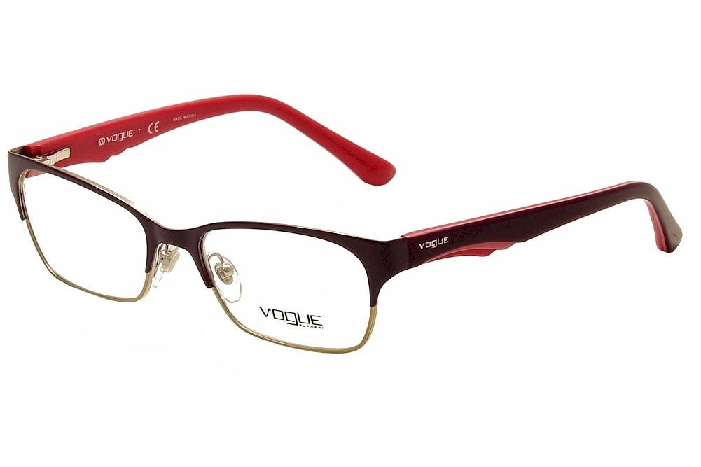 Vogue Eyeglasses VO3918 VO/3918 848 Violet/Brushed Gold ...