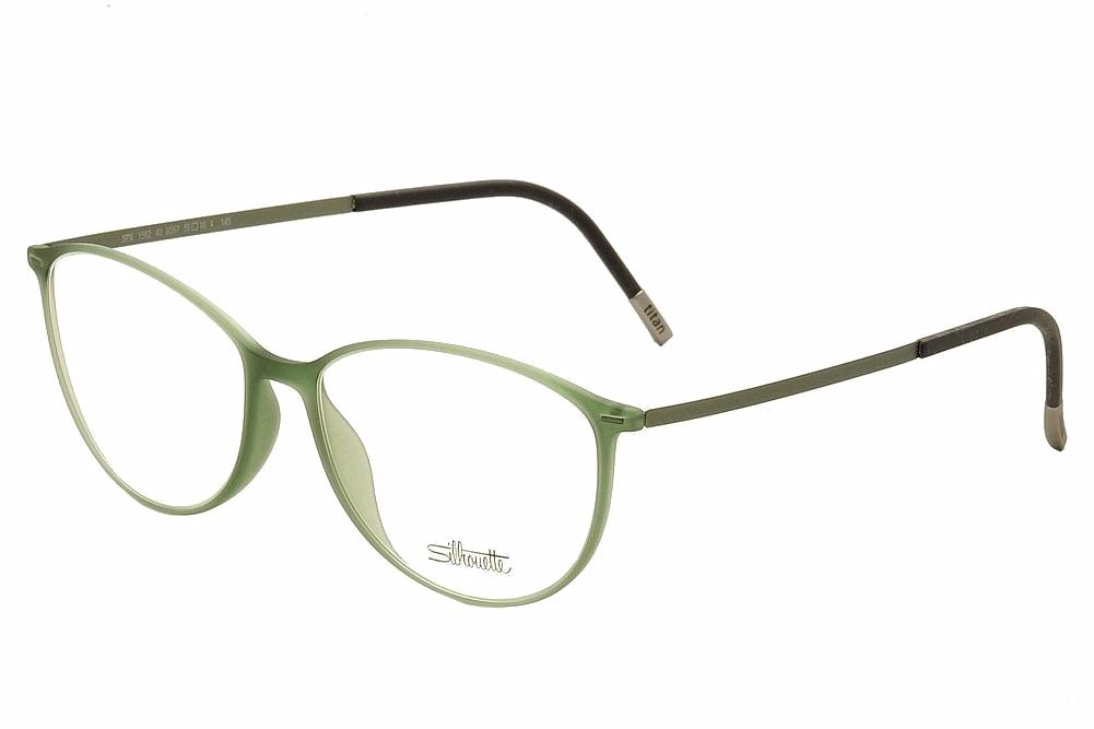 Jade Green Eyeglass Frames : Silhouette Womens Eyeglasses Urban Lite 1562 6057 Soft ...