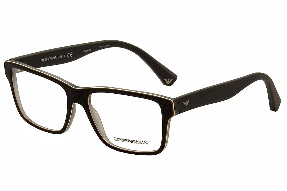 emporio armani s eyeglasses ea3059 ea 3059 5390 black