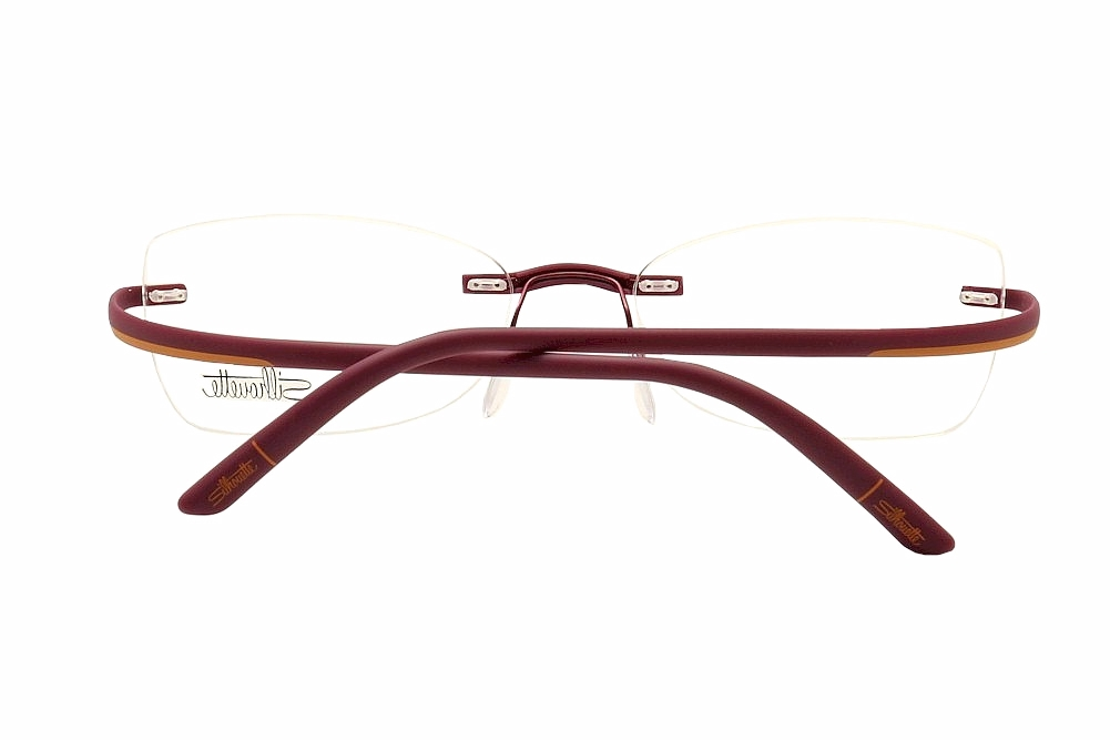 Rimless Eyeglass Frames Silhouette : Silhouette Eyeglasses SPX Match Chassis 1569 Rimless ...