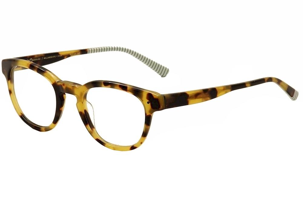 Eyeglass Frames Williamsburg Va : Etnia Barcelona Eyeglasses Williamsburg HVGR Havana/White ...