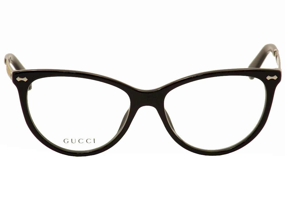 cat eye gucci eyeglasses 3818 csa black