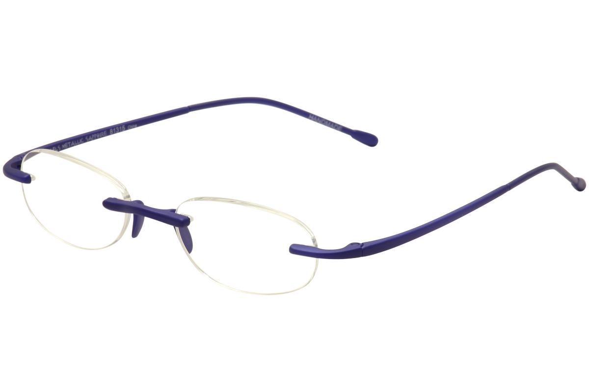 Rimless Glasses New Lenses : Scojo New York Eyeglasses Gels Metallic Rimless Reading ...