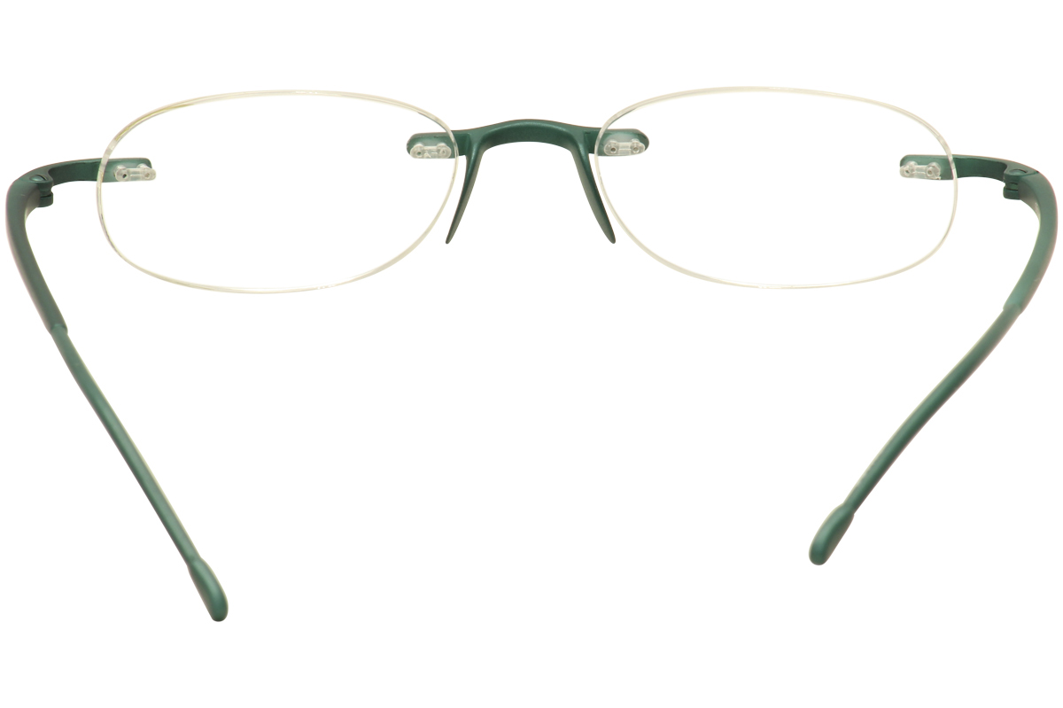 scojo new york eyeglasses gels metallic rimless reading