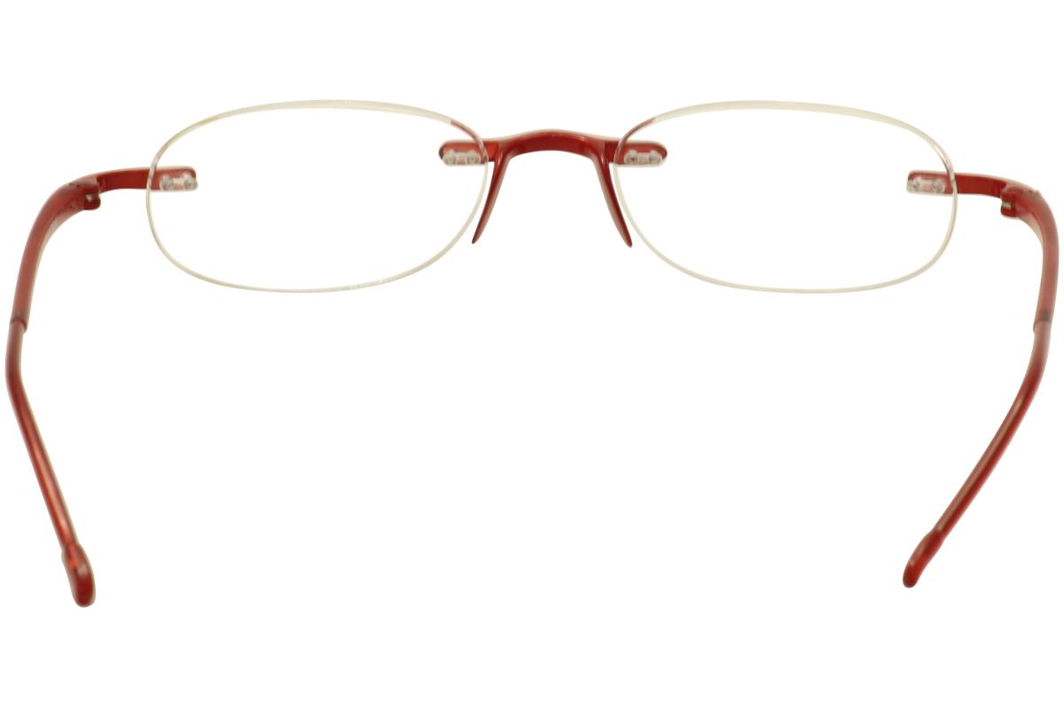 Rimless Glasses New Lenses : Scojo New York Eyeglasses Gels Rimless Reading Glasses eBay