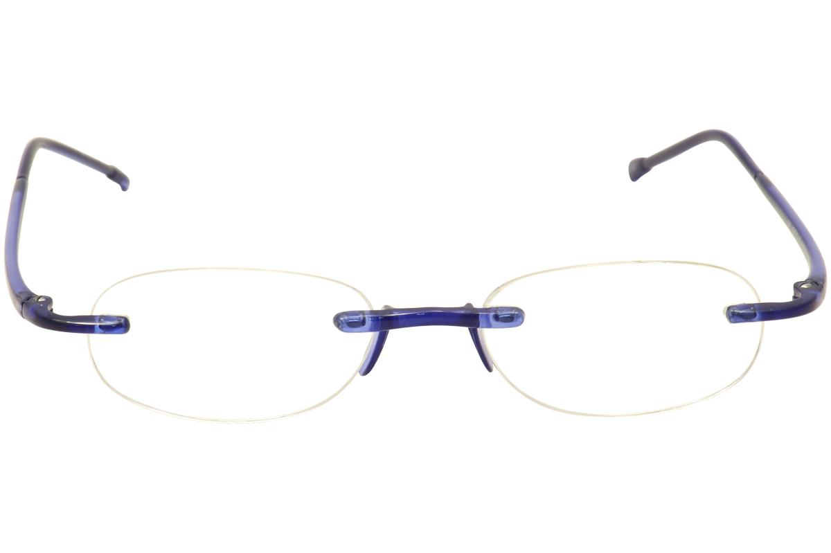 Scojo New York Eyeglasses Gels Rimless Reading Glasses eBay