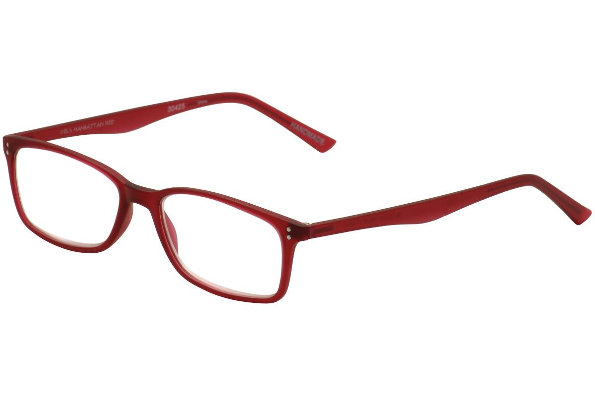 Scojo New York Eyeglasses Gels Manhattan Full-Rim Reading ...