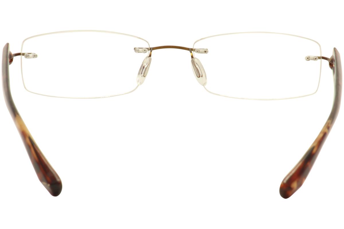 Rimless Glasses New Lenses : Scojo New York Eyeglasses Gels Wideline Rimless Reading ...