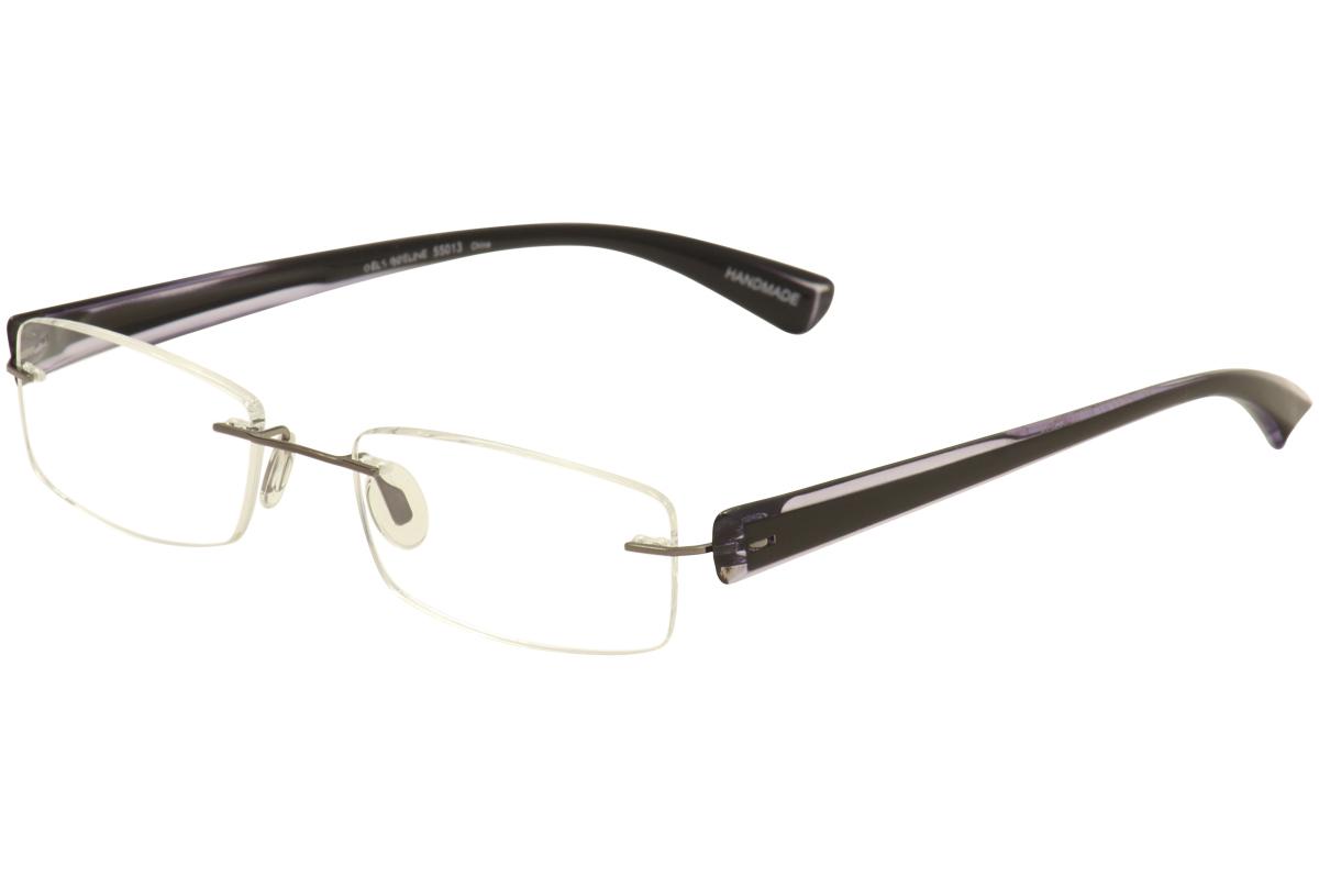 scojo new york eyeglasses gels wideline rimless reading
