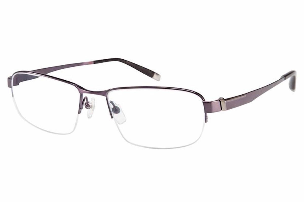 Eyeglass Frames Half Rim : Charmant Z Mens Eyeglasses TI19834R TI/19834R Titanium ...