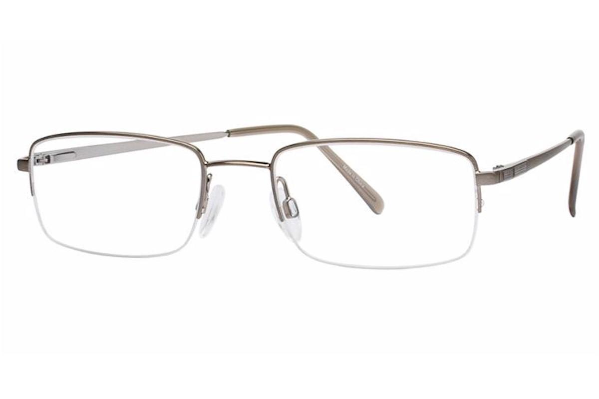 Aristar By Charmant Mens Eyeglasses AR6768 AR/6768 Half ...