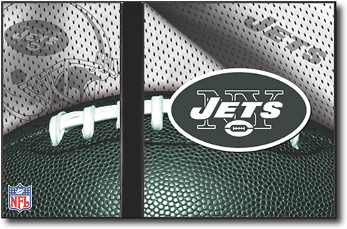 NEW YORK JETS NFL Console Jersey Skin Decal PS2