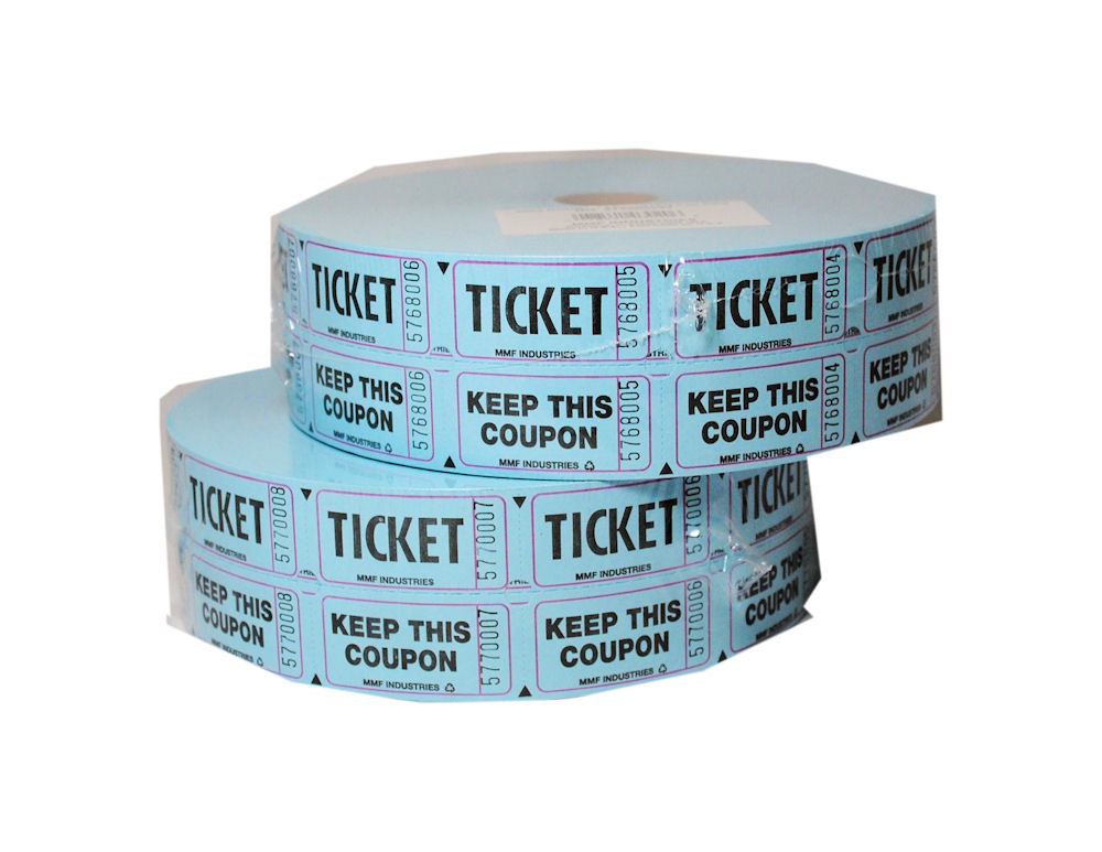 Raffle Tickets Roll On Shoppinder
