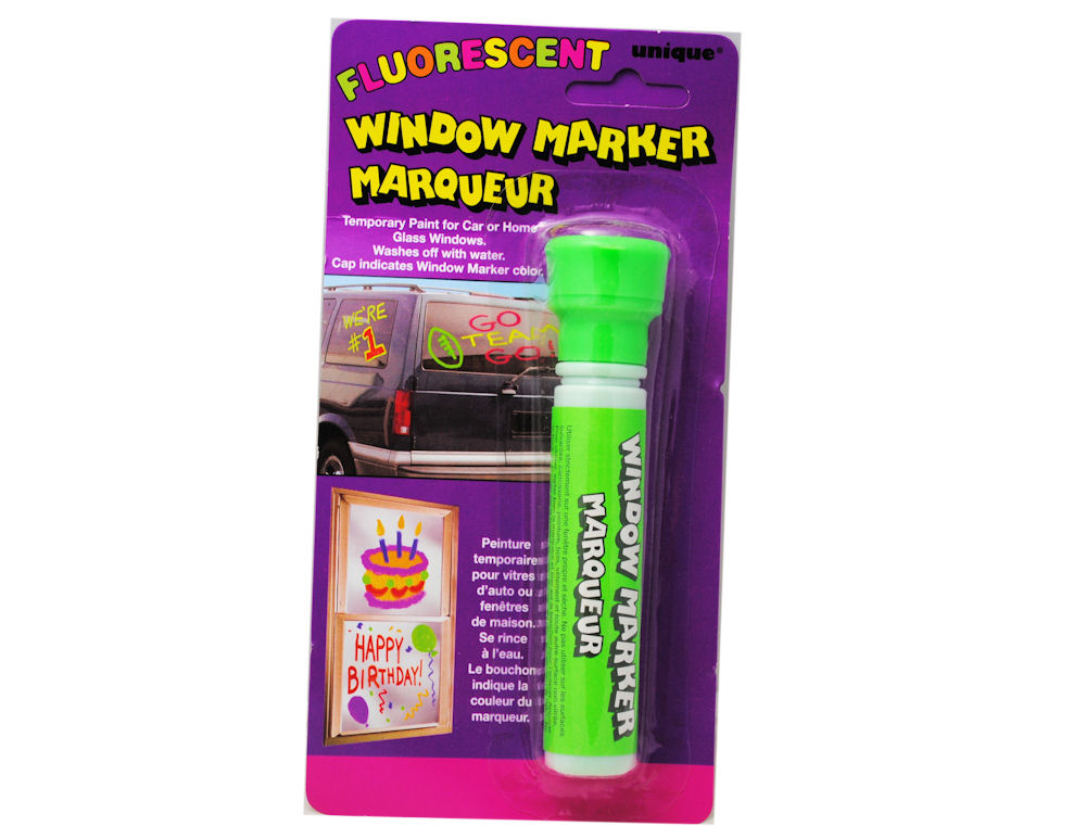 window marker car glass temporary paint neon green ebay