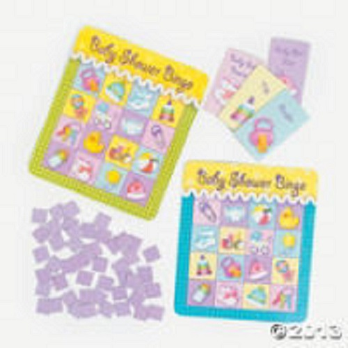 details about 16 baby shower bingo games fun favors