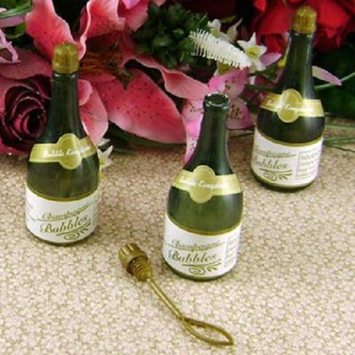 48 Champagne Bottle Wedding Bubbles Mini Party Favors Reception New Years