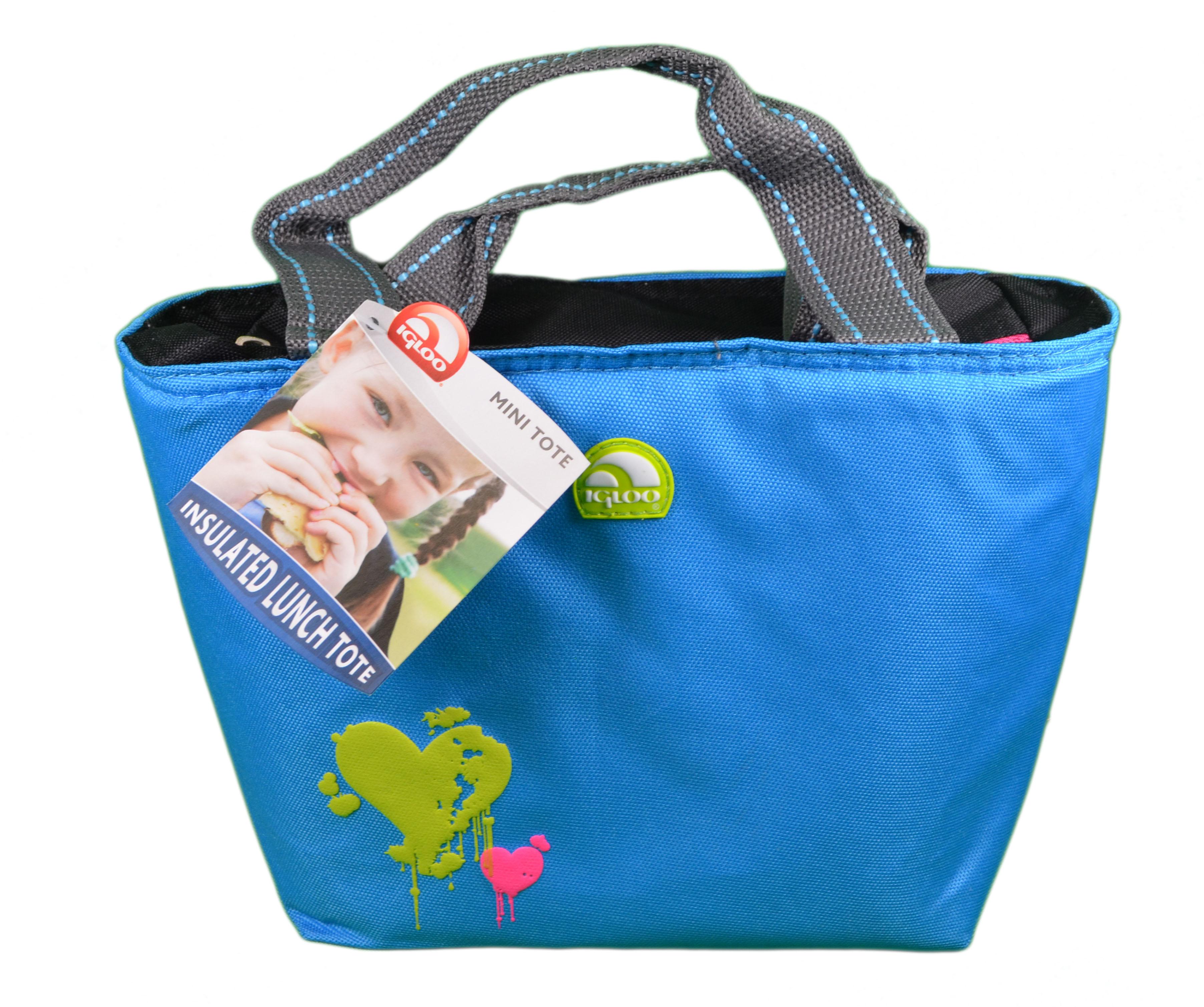 igloo mini tote insulated lunch cooler bag ebay