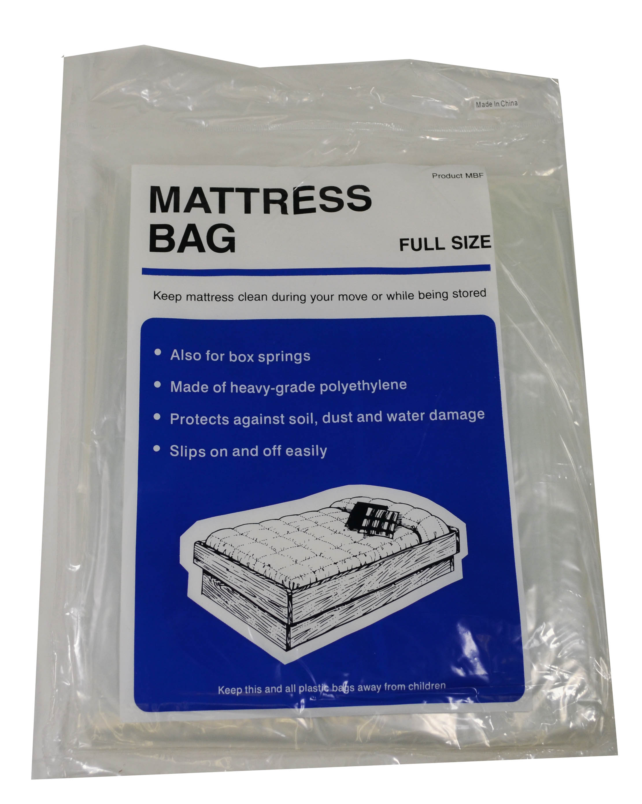 Lot of 4 Mattress Bag Full Size Protect During Move