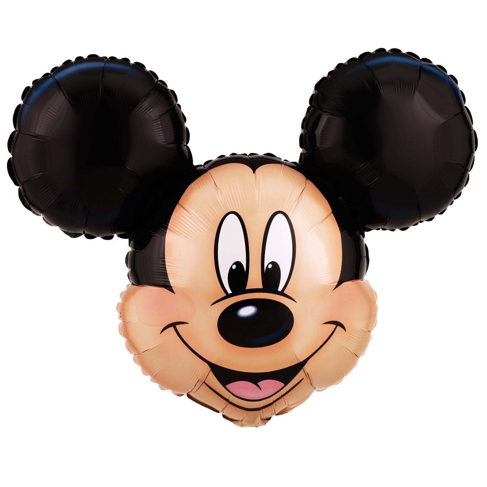 "ANAGRAM XL 27"" Disney Mickey Mouse Super Shape Mylar Foil Birthday Party Balloon at Sears.com"