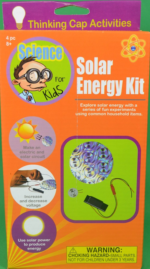 Science for kids solar energy kit educational household for Solar energy projects for kids