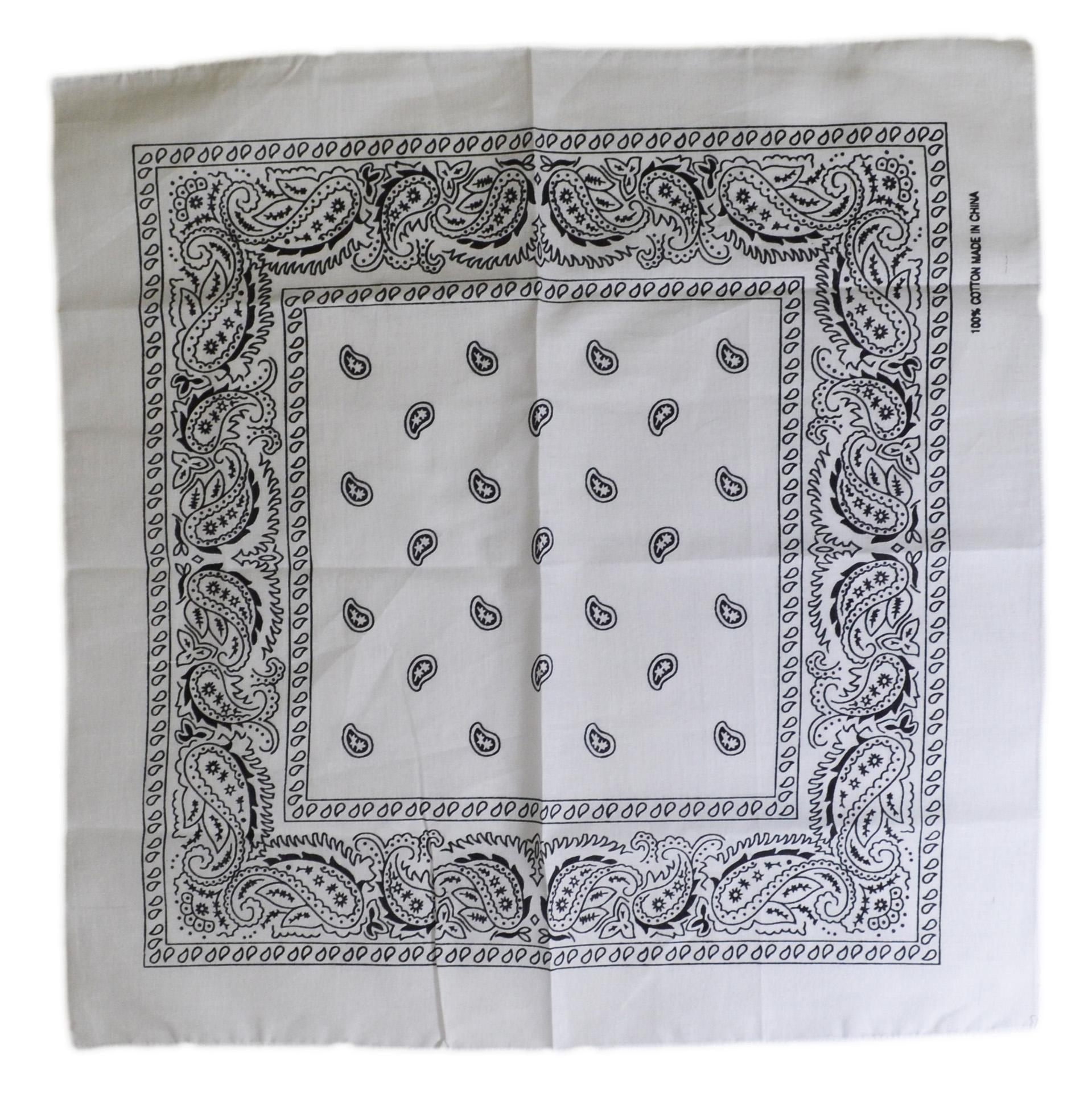 White Bandana Wallpaper More information