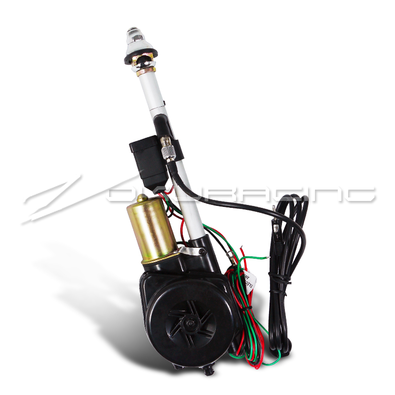 Radio Shack Electric Motor Kit: Sell 12V Power AM FM Radio Electric Antenna Mast