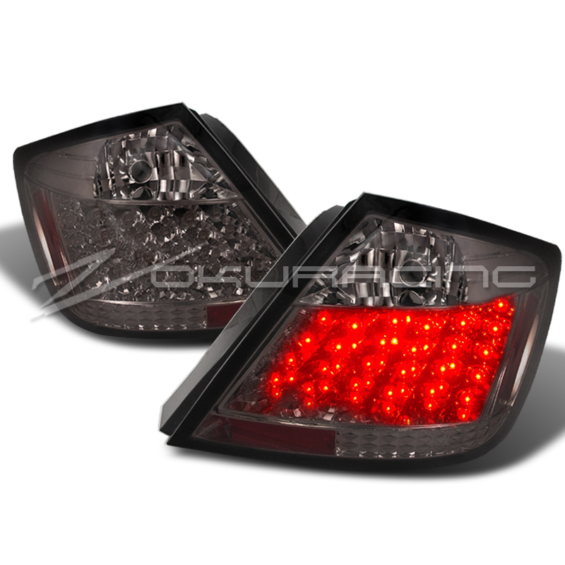 details about smoke 2005 2010 scion tc rear led tail lights lamps pair. Black Bedroom Furniture Sets. Home Design Ideas