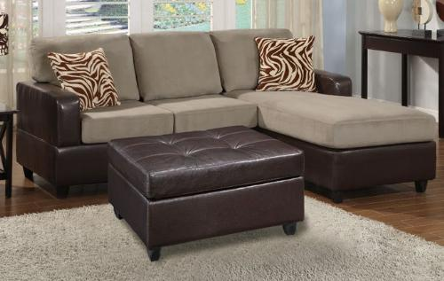 SMALL-SECTIONAL-SECTIONALS-SOFA-LOVESEAT-COUCH-W-FREE-OTTOMAN-CHAISE